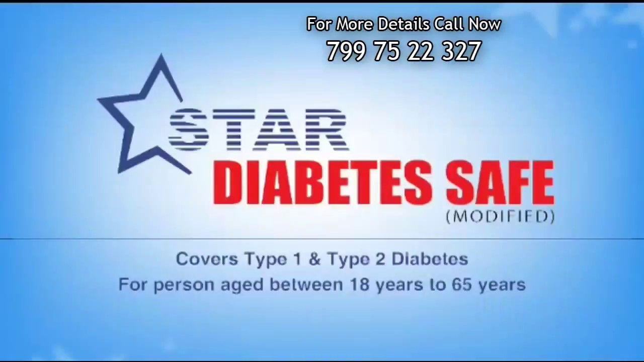 Star Diabetes Safe Insurance Policy Star Health Insurance