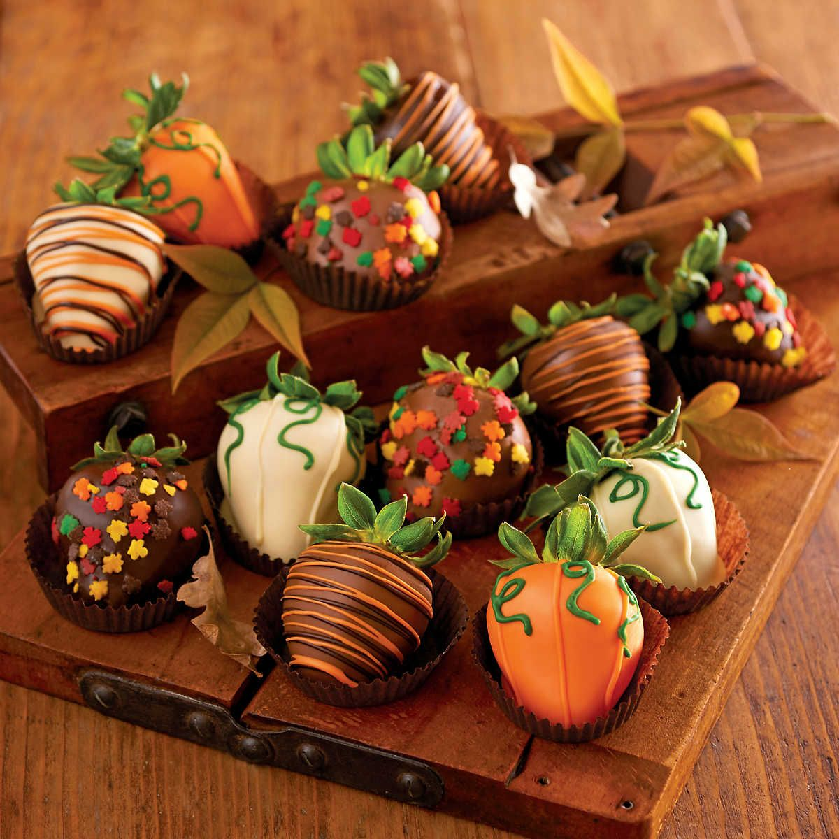 Harvest Chocolate-Covered Strawberries Delivery | Harry & David ...