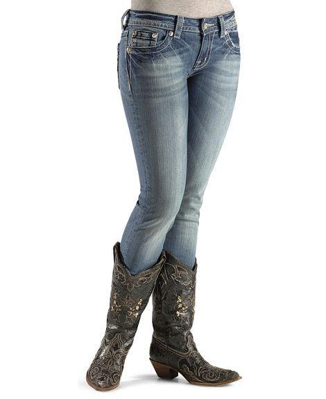 Miss Me Jeans Juniors' Slim Skinny
