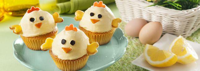 Tutte le ricette per creare un perfetto menù di Pasqua: Muffin Pulcini.