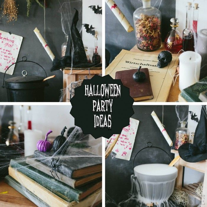 Great Halloween party ideas for the scariest party ever Halloween - halloween party decorations adults