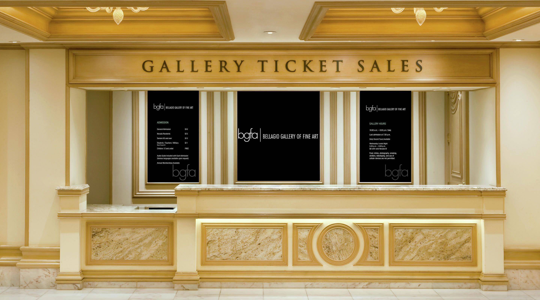 Vegas Bellagio Gallery of Fine Art, has works by