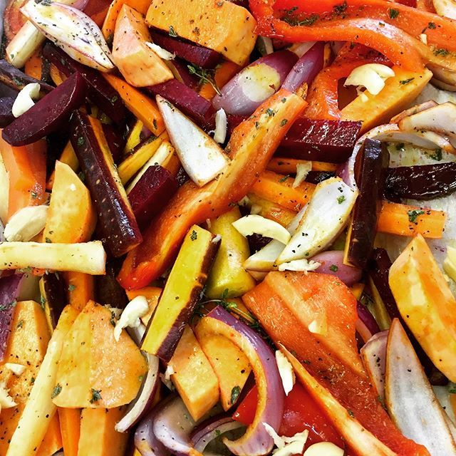 [New] The 10 Best Food Ideas Today (with Pictures) -  Roasted root veggies A beautiful medley