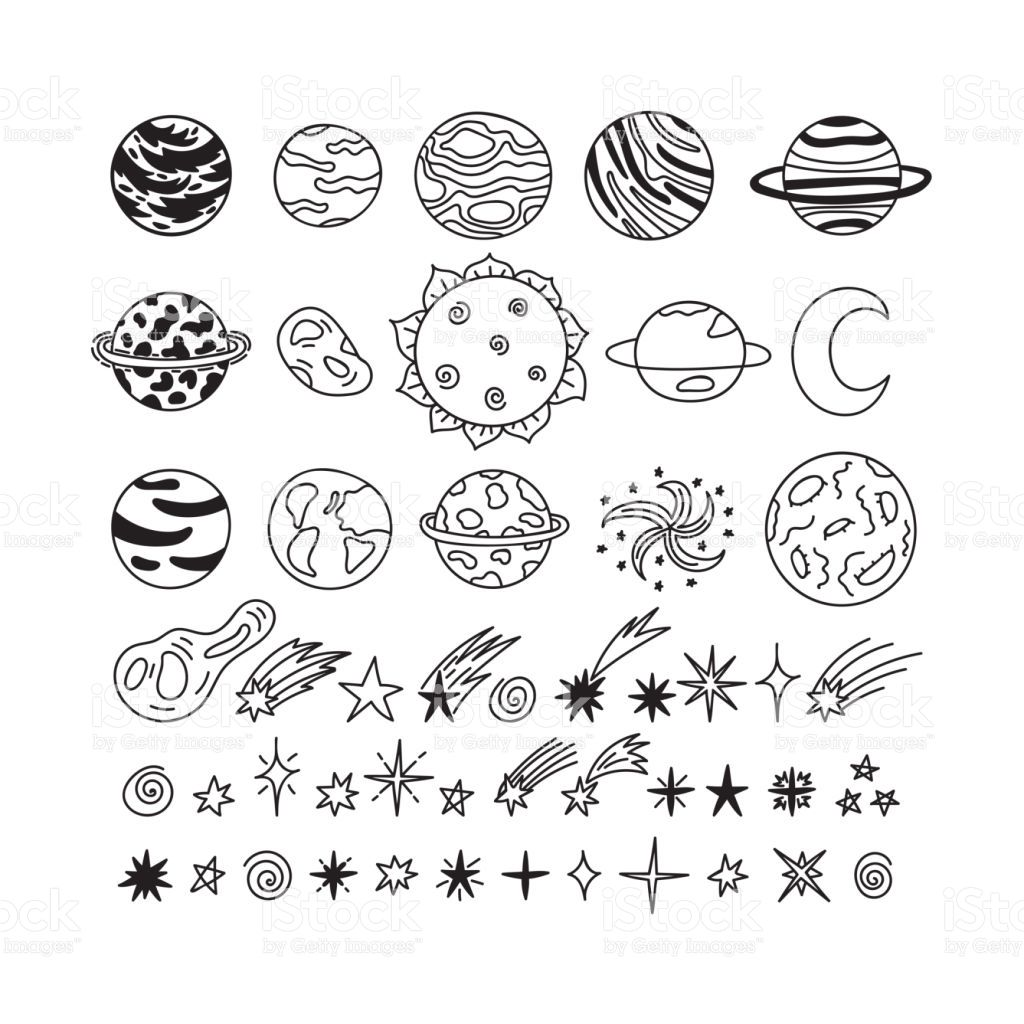 Image Result For Cute Galaxy Star Doodle
