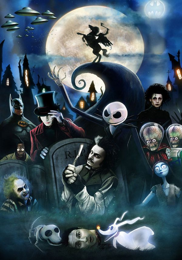 Tim Burton Nightmare Before Christmas Artwork.Fan Art Friday The Nightmare Before Christmas By Techgnotic