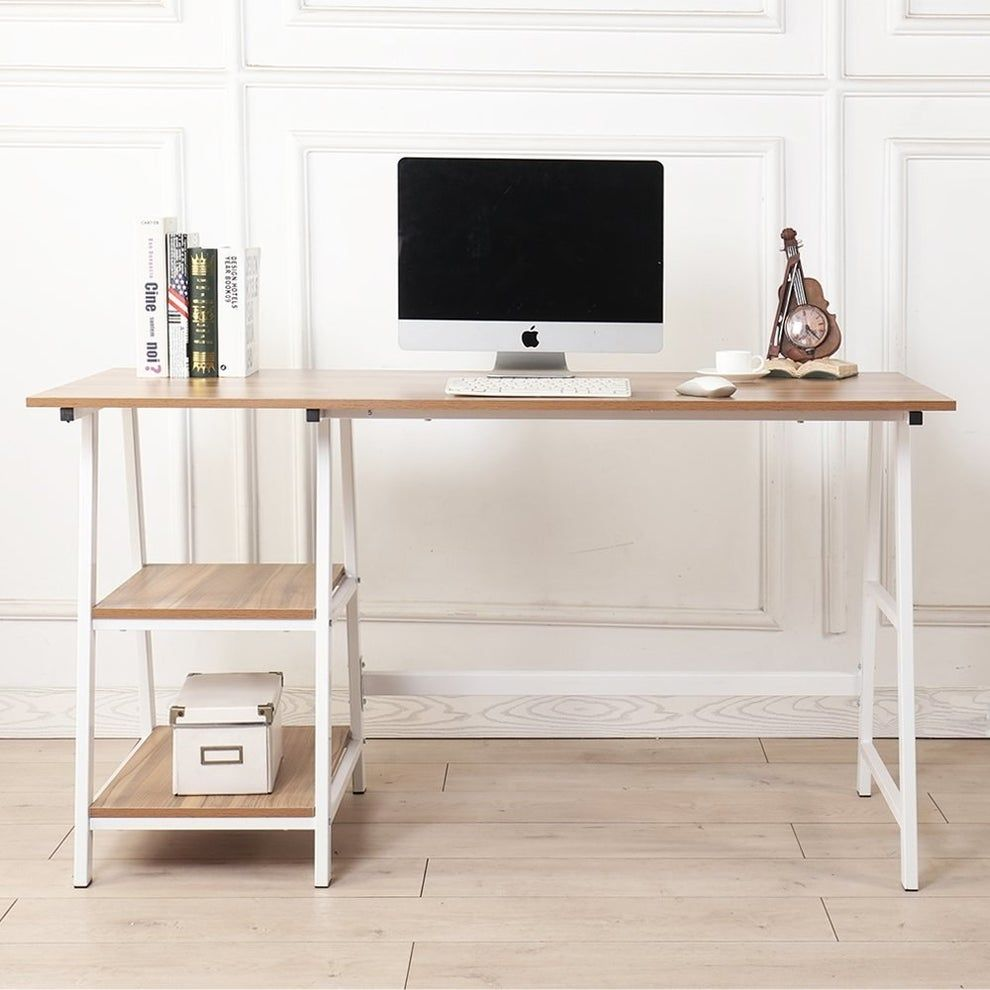 43 off a bestselling computer desk that is simple but oh