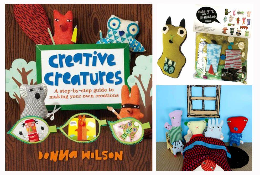 Donna Wilson make your monster - felt - fieltro