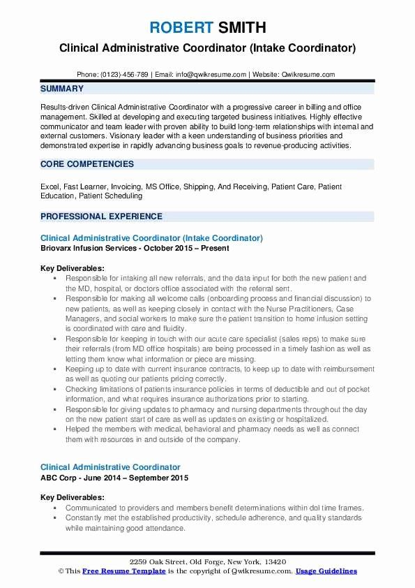 Health Unit Coordinator Job Description Resume Lovely ...