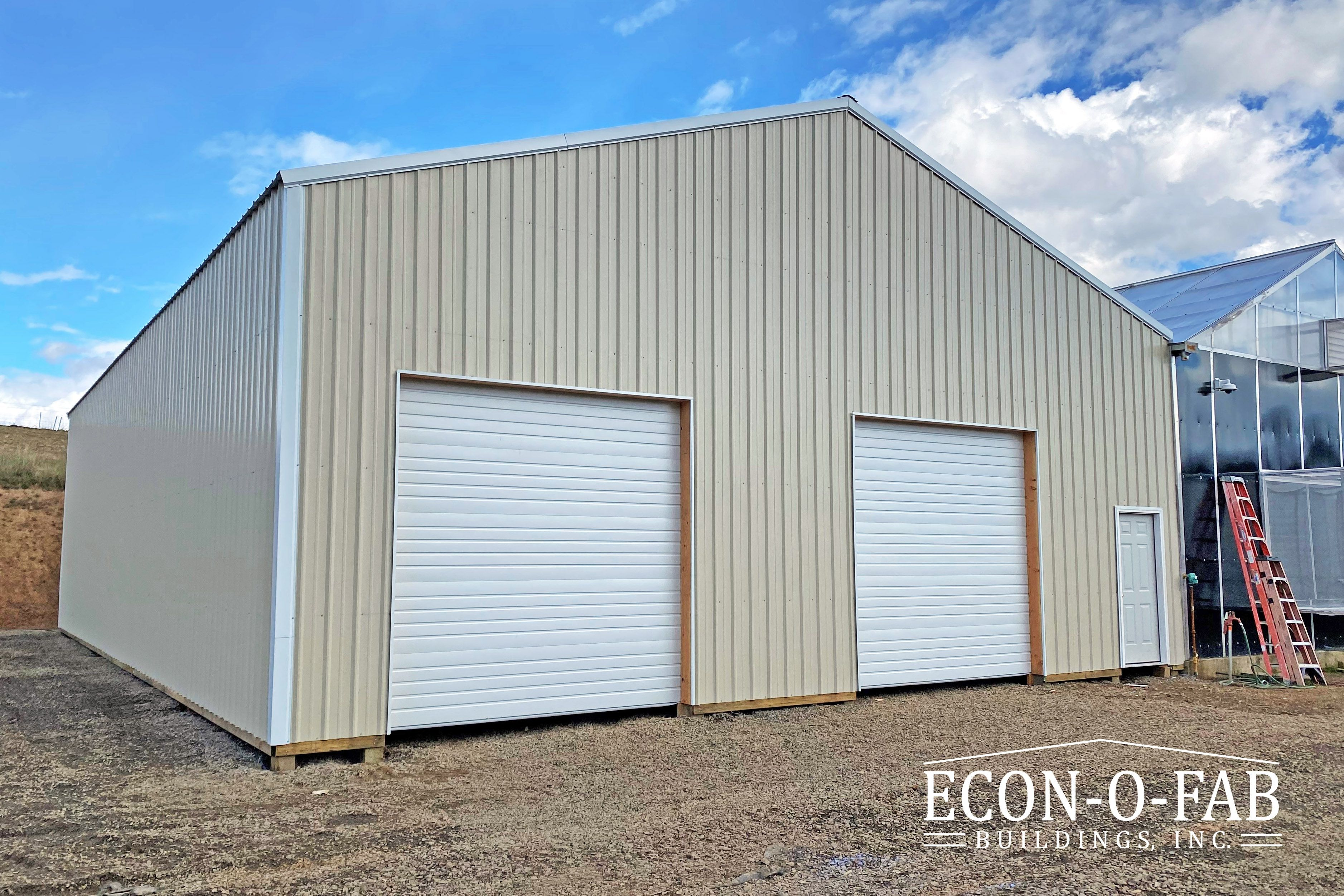 40 X 60 X 16 Ag Building In 2020 Pole Buildings Farm Buildings Building Contractors
