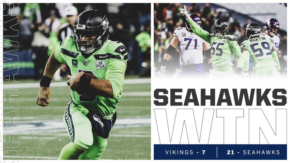 (19) Twitter Seahawks, Nfc west, Vikings