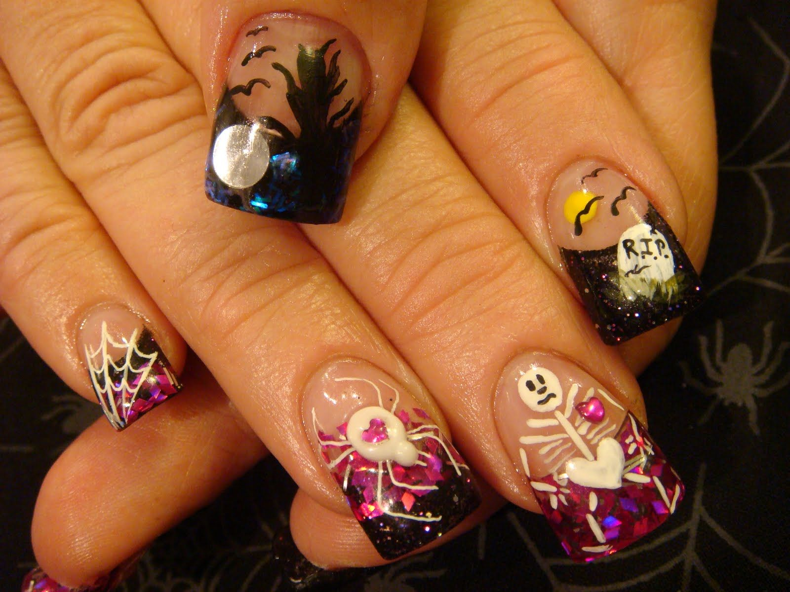 Pin by Kalyn Moore on Eye Shadow and Nails | Halloween ...