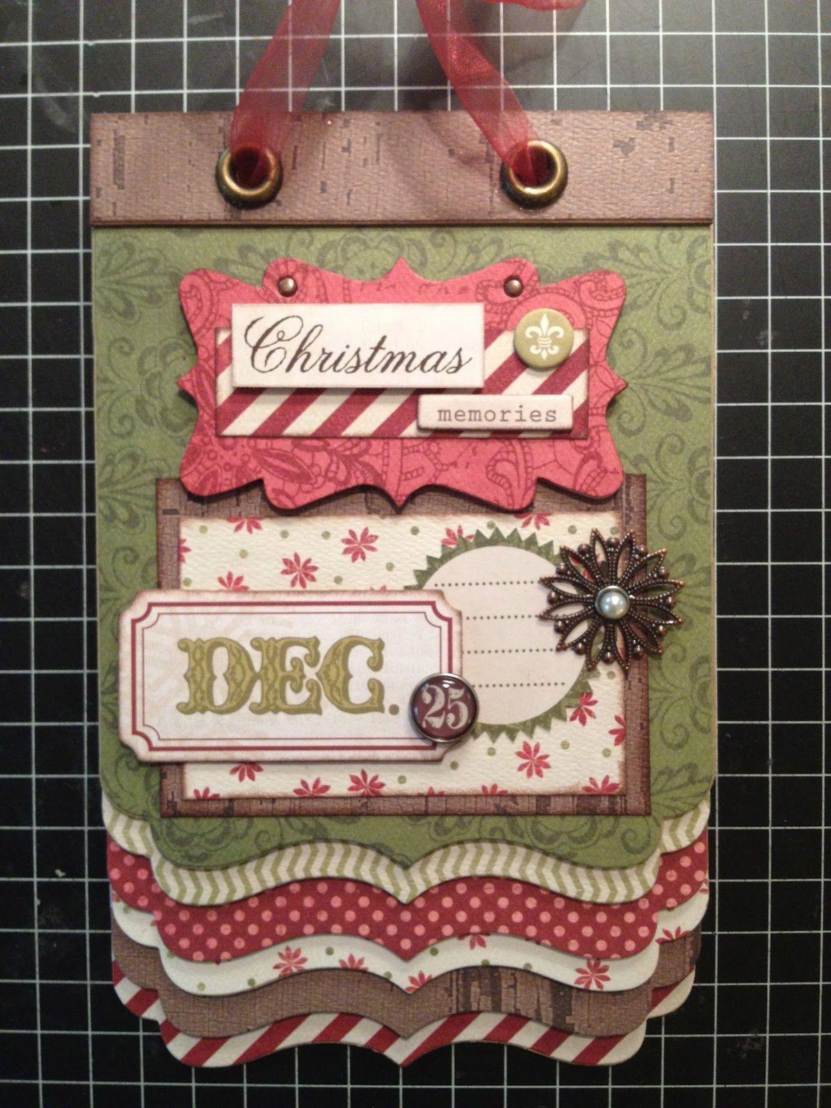 Scrapbook ideas christmas card - Artsy Albums Scrapbooking Kits Custom Designed Scrapbook Albums By Traci Penrod
