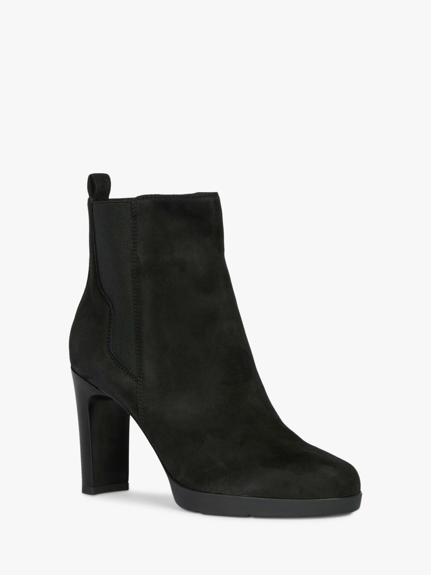 women Geox ANNYA High heeled ankle boots black