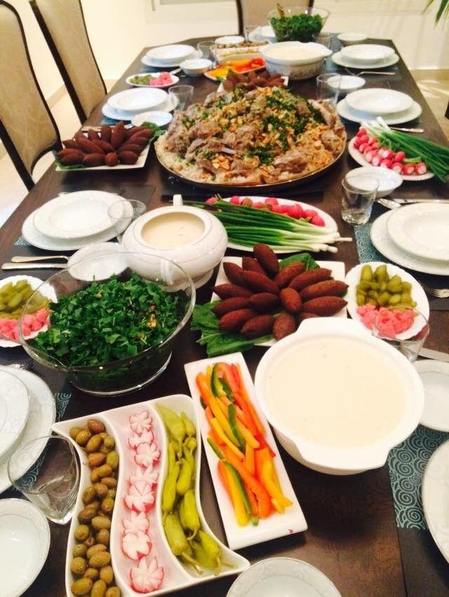 افكار لـ سفرة رمضان بالصور طريقة Food Photo Food And Drink Arabic Food