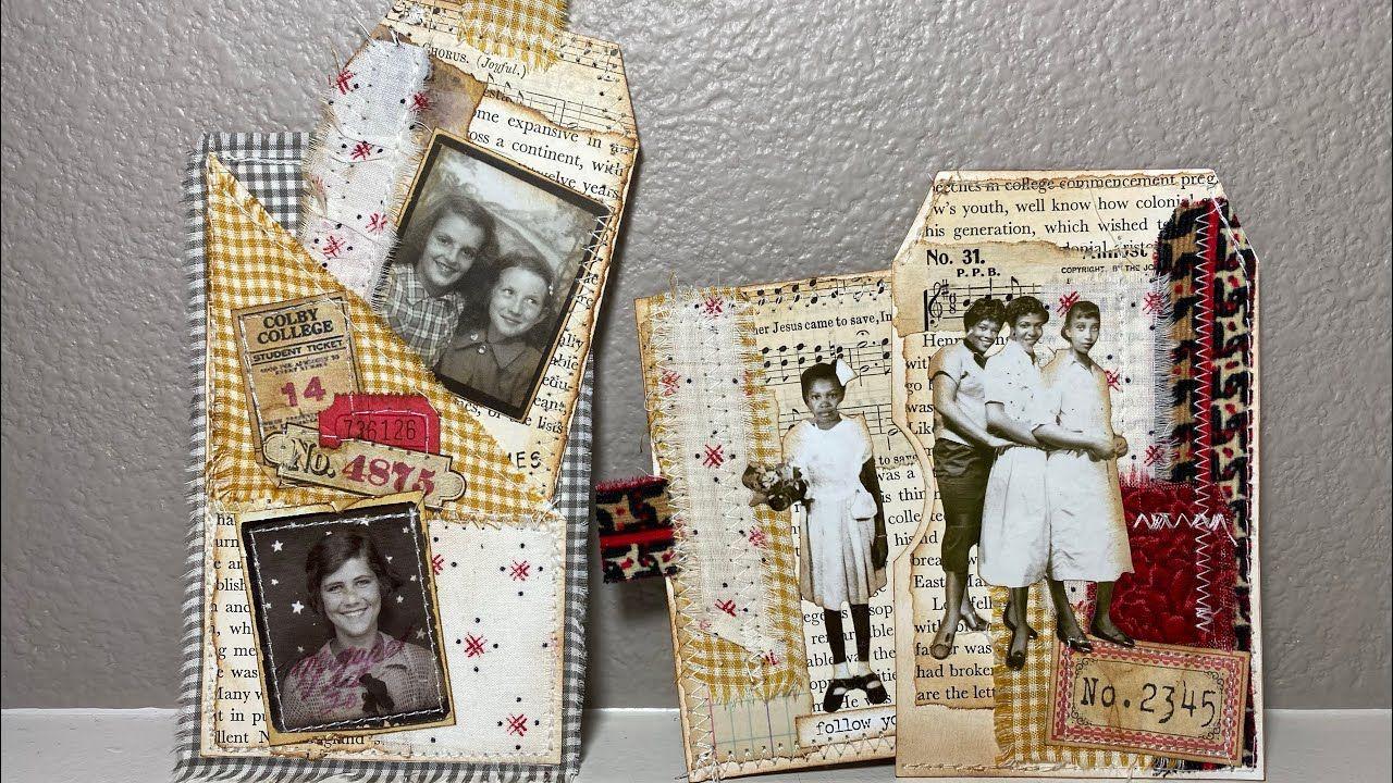 One Vintage ephemera pack #4 Ephemera for Junk Journal