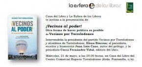 """Mañana presentación de """"Vecinos por Torrelodones"""" '¡Vecinos al poder!', sobre su andadura política"""