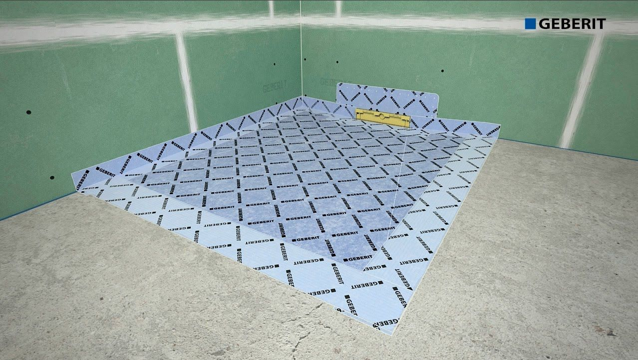 Geberit Shower board - Installation | Bad Ideen | Pinterest | Board ...