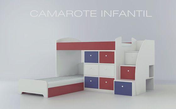 Camarote Para Dormitorio De Ninos Cgc San Hilarion Sac - Dormitorio-de-nios