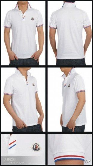 moncler homme BLANC