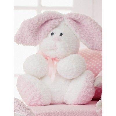 Fluffy Bunny Crochet Free Pattern Amigurumi Stuffed Toy Easter