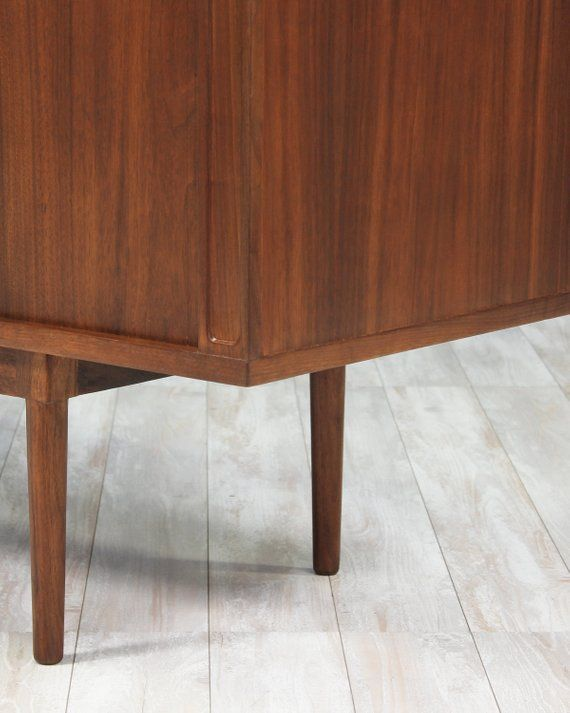 danish modern tambour door credenza by peter l vig nielsen in 2019 rh pinterest com
