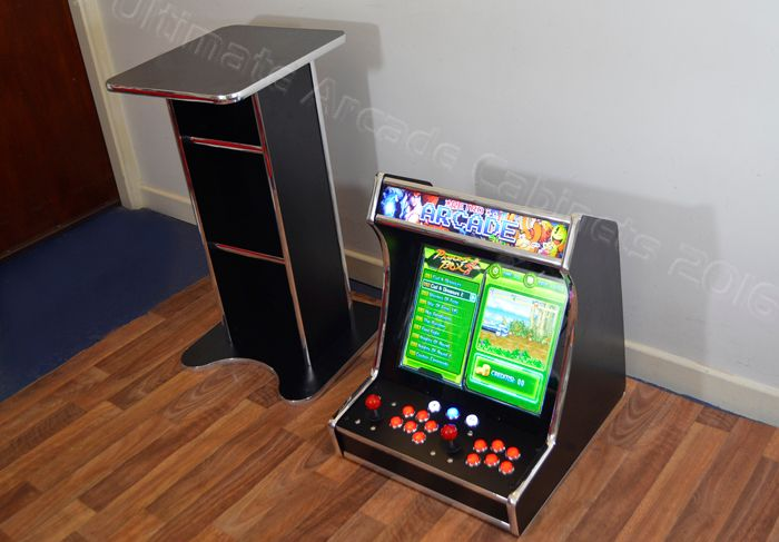 Portable Bartop Arcade With Stand Project Arcade