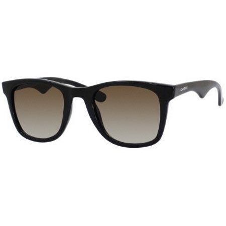 a3abdd59b8 Carrera 6000 L S Adult Rectangular Plastic Lifestyle Sunglasses - Dark  Havana Brown