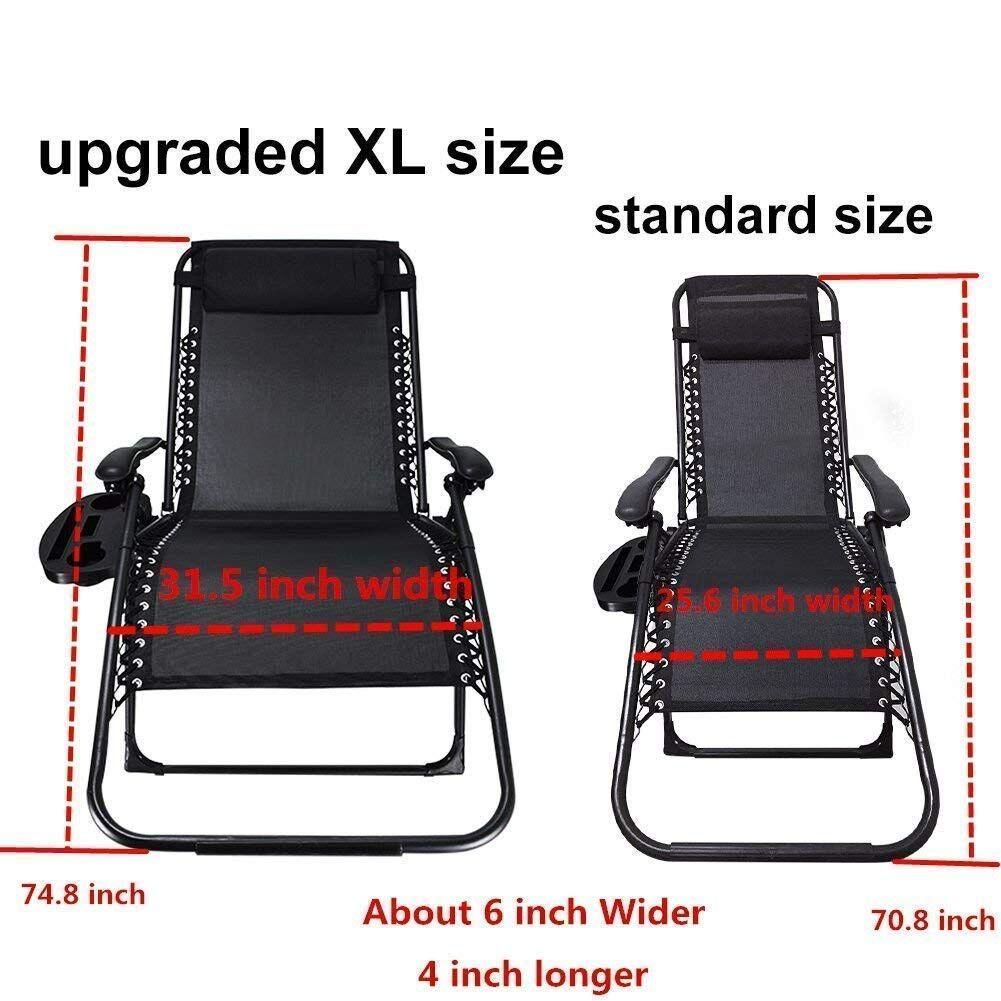 padded oversized zero gravity chairs