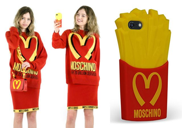edbd002e9a Buy Moschino McDonalds iPhone Case Online | StageBuddy's Fashion ...