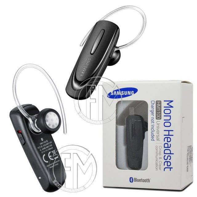 a4129f6f06b Genuine Samsung HM1100 Wireless Bluetooth Headset Earphone For iPhone 7 i7  7G