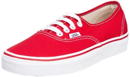 Vans Unisex Authentic Solid Canvas Skateboard Sneakers * Click image for more details.