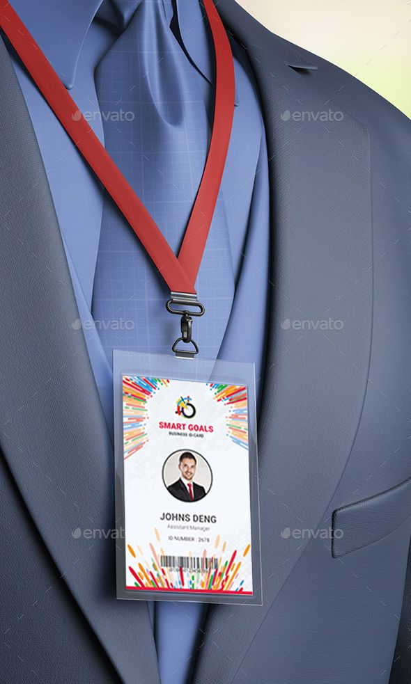 Check out my @Behance project u201cCorporate ID Card Template - id card template