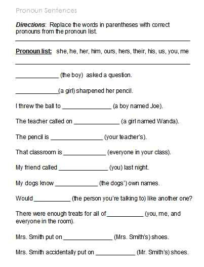 worksheets possessive pronoun worksheets opossumsoft worksheets and printables. Black Bedroom Furniture Sets. Home Design Ideas
