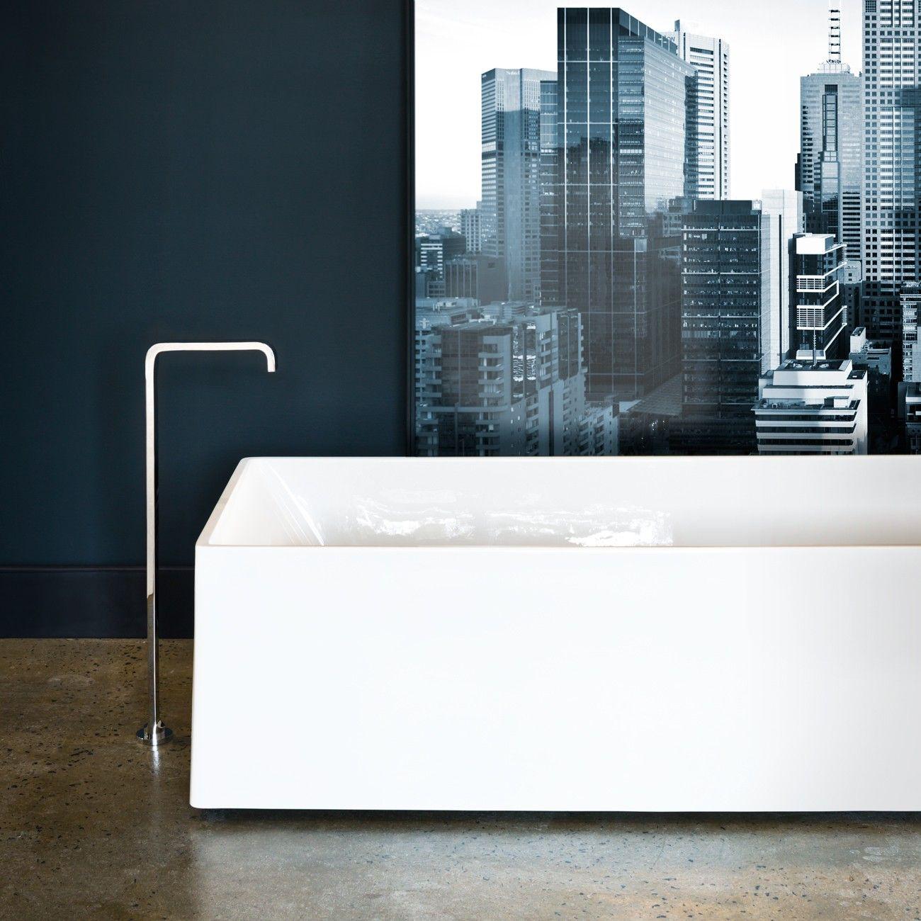 Rogerseller Uno Duo Lucite Acrylic Freestanding Bath - Rogerseller ...