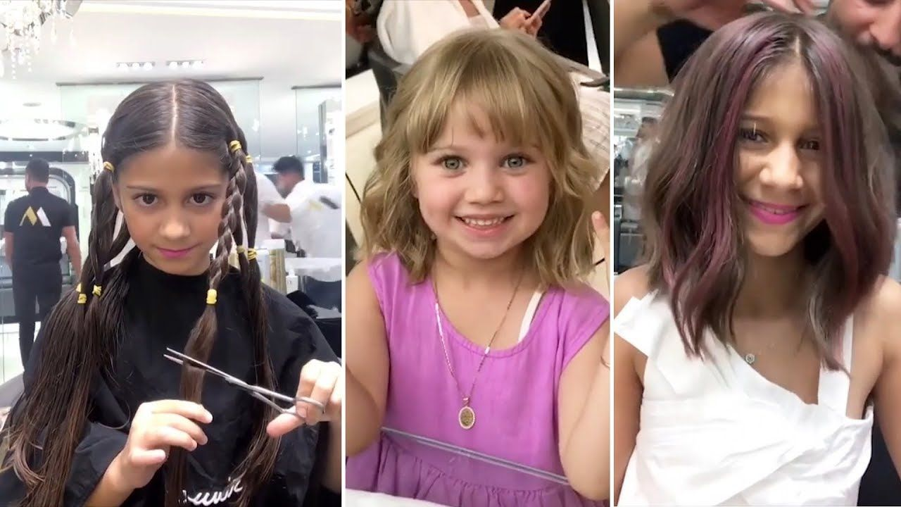 Lovely kids hairstyles u hair cutting compilation ift