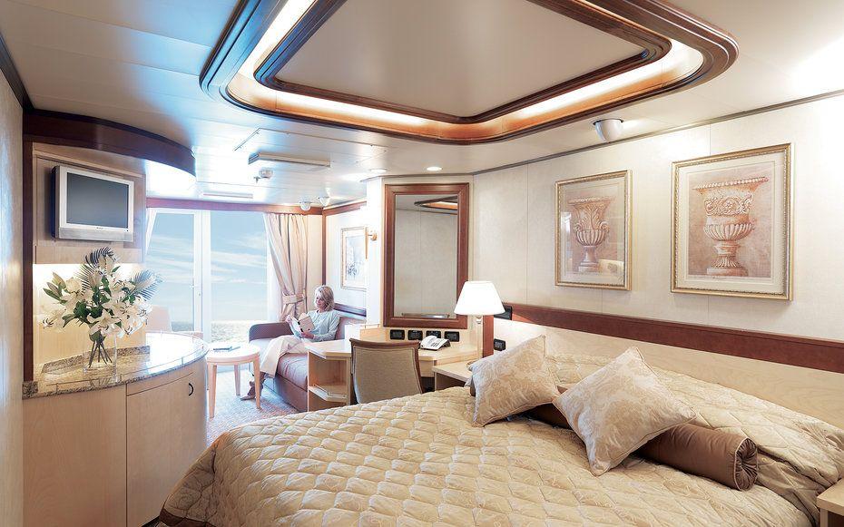 World's Best Cruise Cabins: Cunard, Large Ocean