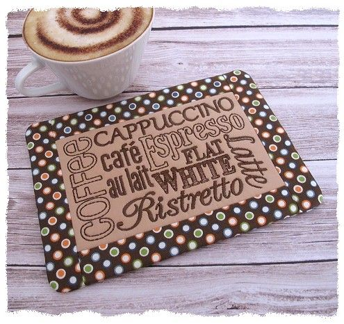 Coffee Mug Rug Patterns
