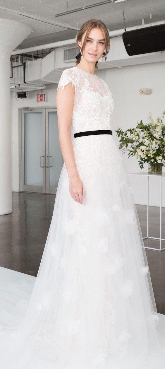 vestidos de novia de marchesa: con todo el romanticismo | vestidos
