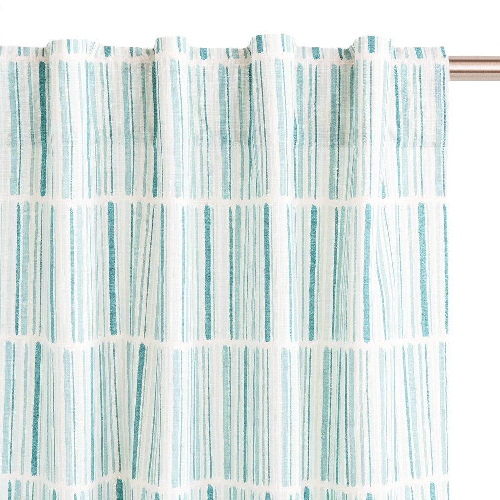Seaglass Palette Drapery Panels by Sarah Richardson Design  - I would love this print if it was a shower curtain