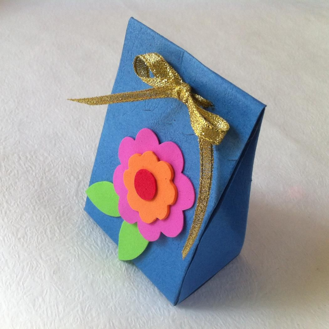 Diy Paper Gift Box For Mother S Day Mother S Day Diy Shoe Box