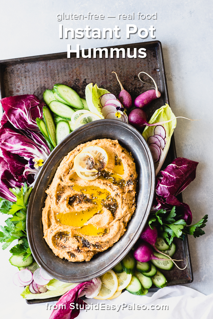 Instant Pot Hummus Recipe Stupid easy paleo, Easy to