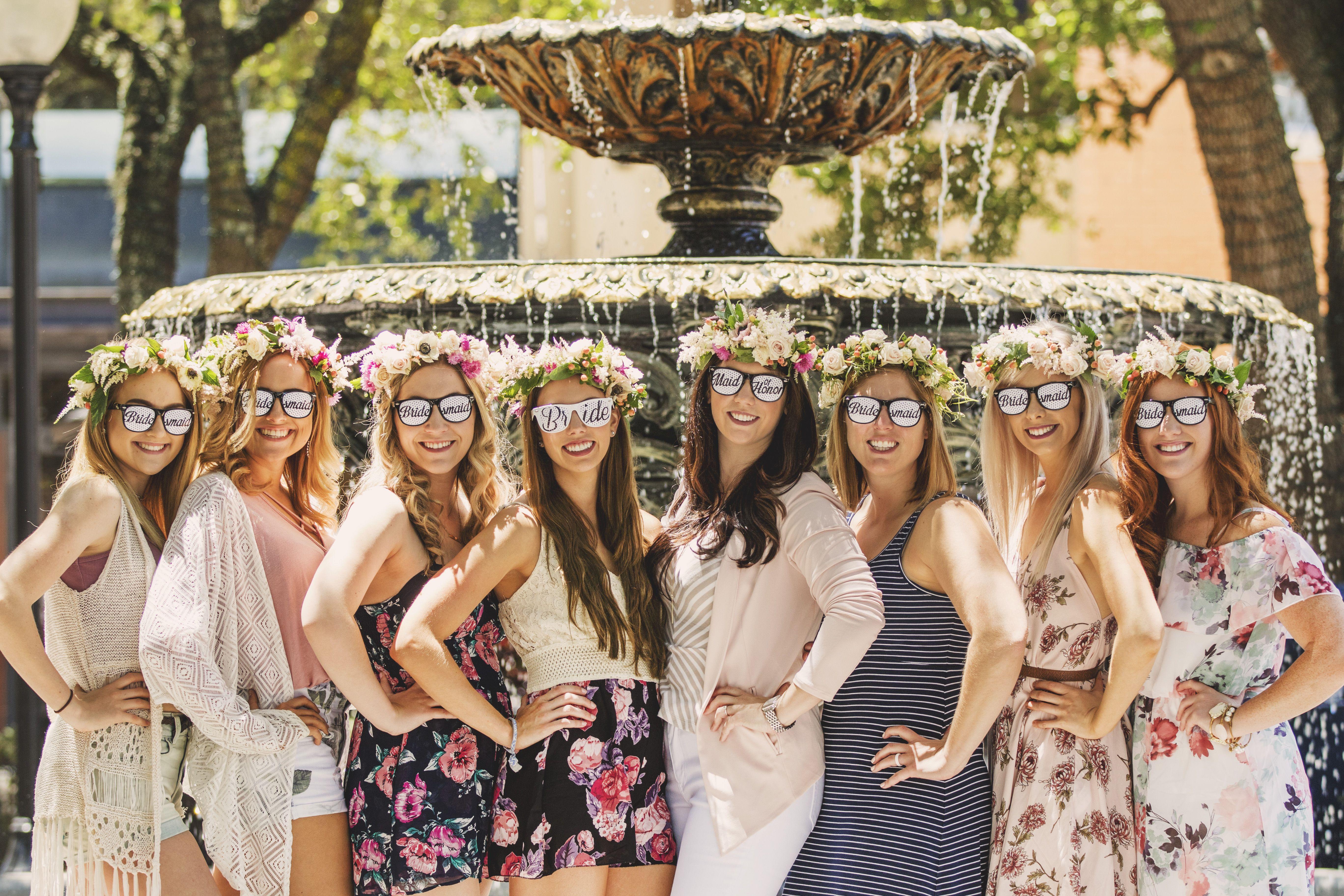 Flower Crown Bachelorette Party