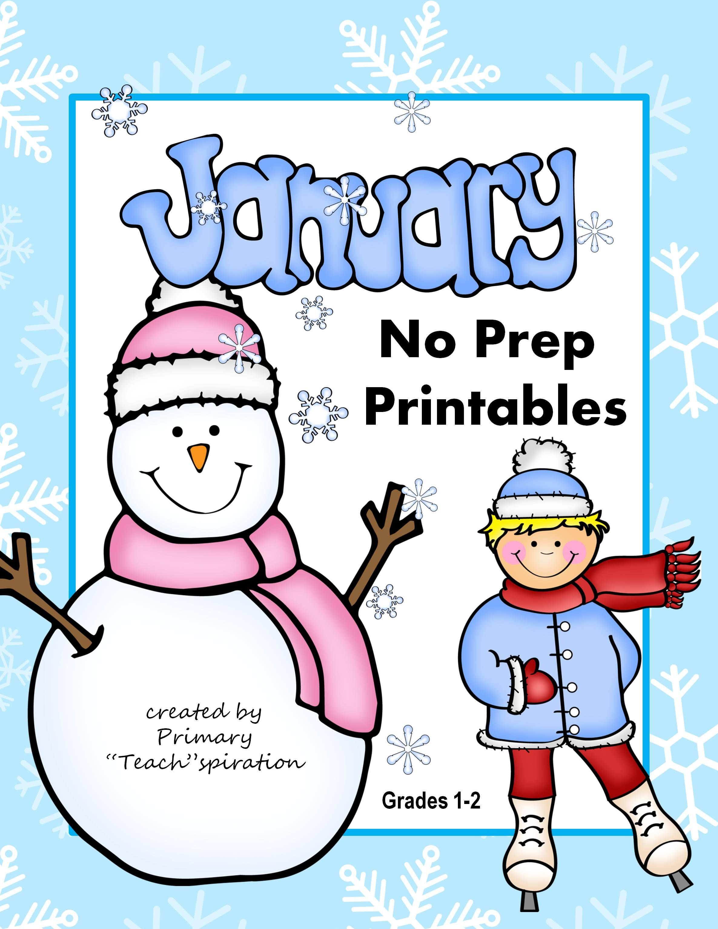 1st Amp 2nd Grade Math And Literacy Printables