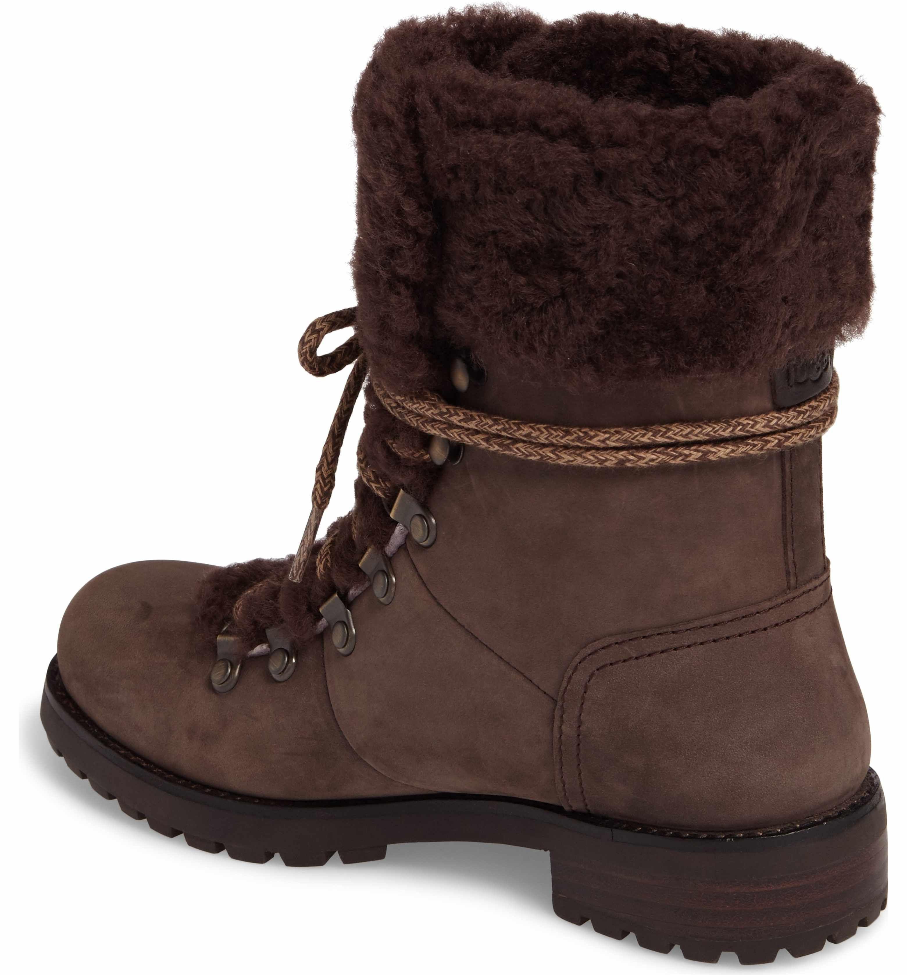 c796fd2dec8c Main Image - UGG® Fraser Genuine Shearling Water Resistant Boot (Women)
