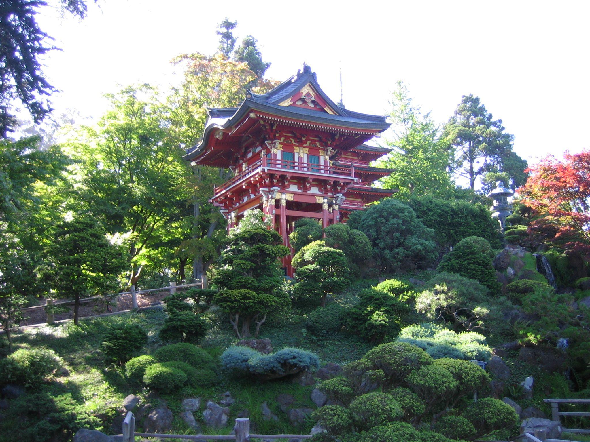 Japanese Tea Garden in Golden Gate Park, San Francisco, CA