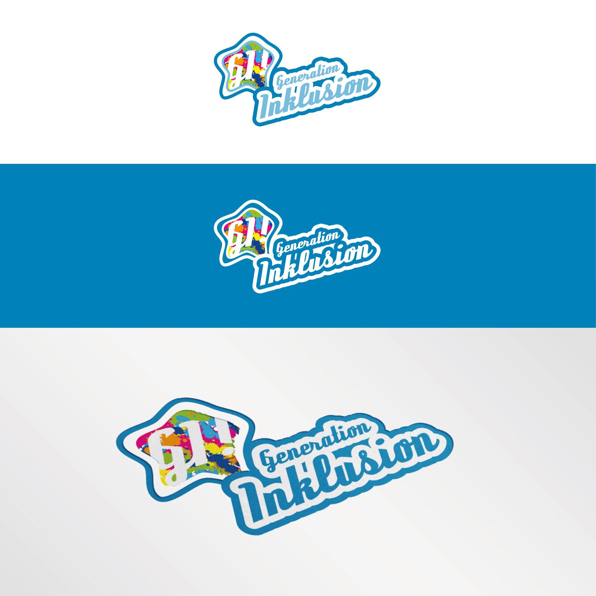 Blog Logo Thema: Inklusion und dem Umgang mit dem Thema. Zielgruppe: 15 - 35 Jährige, die sich kritisch mit dem Thema auseinandersetzen oder einfach informieren möchten #inklusion #logo #design #modern