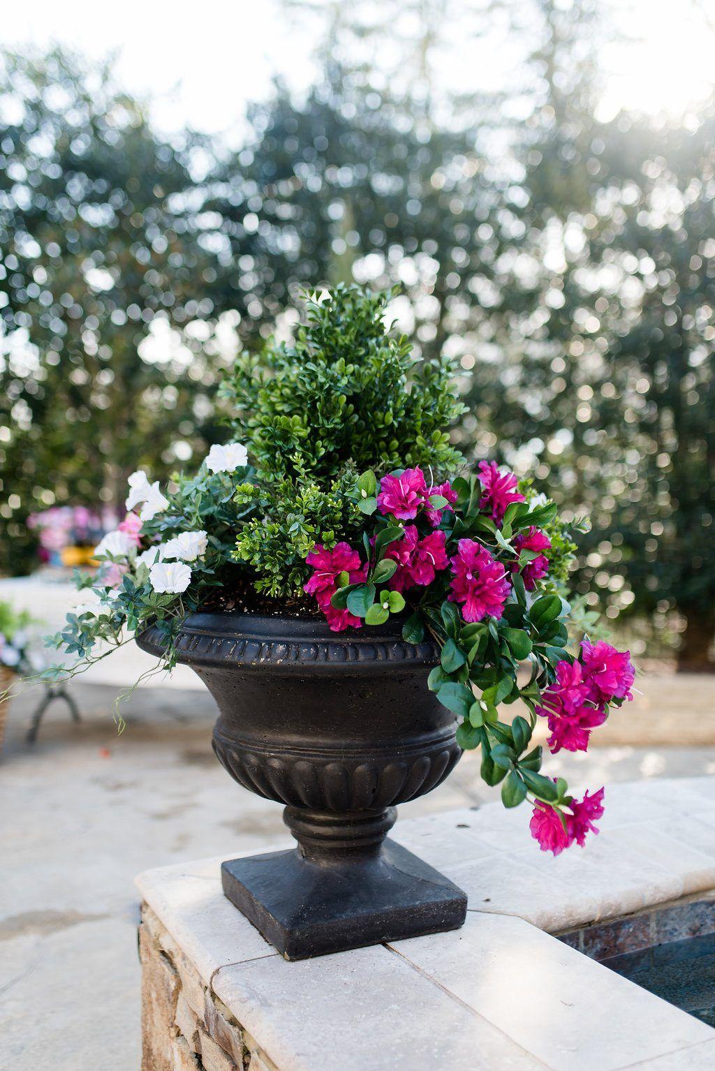 A Butter Weekend Bluegraygal Artificial Plants Outdoor Fake Flowers Artificial Flowers