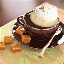 Cafecito de caramelo para pasar el frío