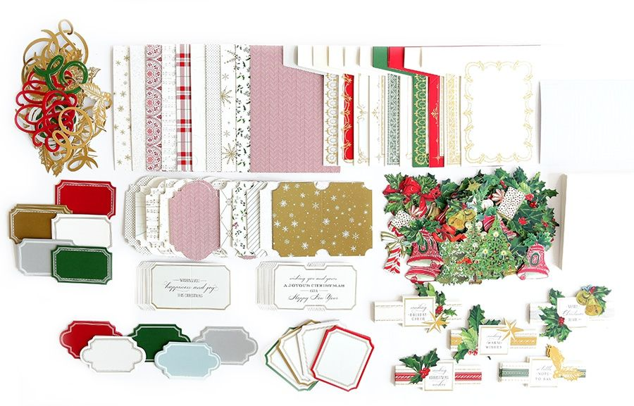 Hsn October 2nd 2019 Product Preview 3 Anna Griffin Beautiful Christmas Cards Christmas Cards To Make Card Kit