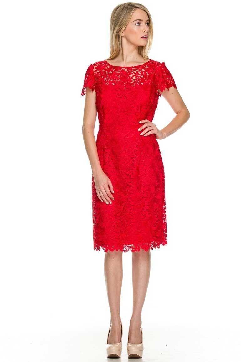 Cocktailkleid 2018 Lucina in Rot | Rote Kleider online kaufen ...